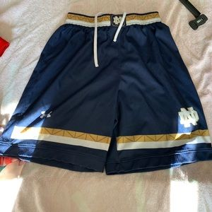 Cute, basketball shorts, Notre Dame
